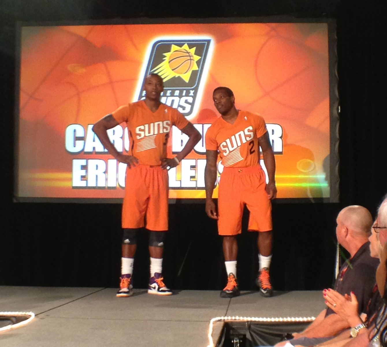 Phoenix Suns New Uniform's Unveiled By: Nicolette Monroe